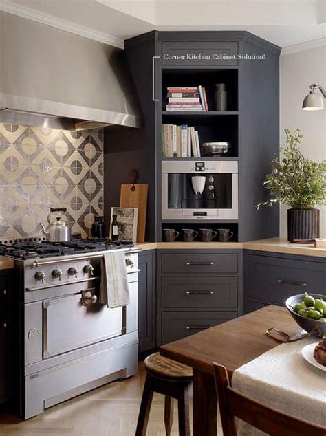 Corner Cupboard Kitchen by Corner Kitchen Cabinet Solutions Organizing Kitchen