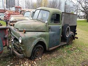 1951 Dodge 1  2 Ton Pickup Green Manual For Sale