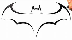 How To Draw Batman Logo - ClipArt Best