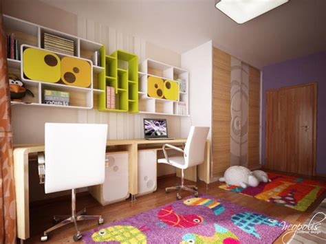original childrens bedroom design showcasing vibrant colors