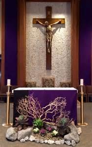 Lent Catholic Church Altar Decorations