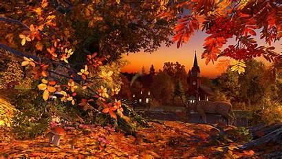 Autumn Screensavers Fall Wallpapers Colors Season Screensaver