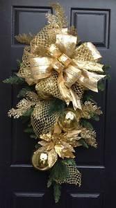 35, Fabulous, Gold, Christmas, Decorating, Ideas