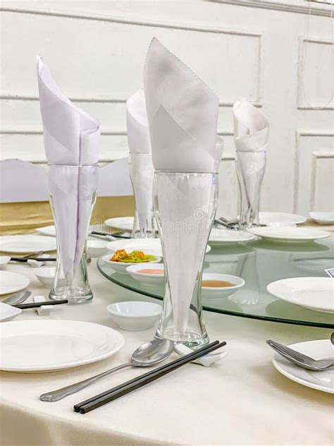 decorated dinning table  wine glasses  luxury