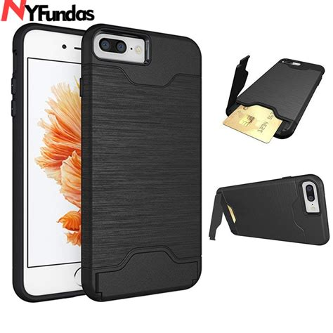 Or possibly other credit card size items. Hybrid Armor Slide Credit Card Slot Kickstand Case For iphone 8Plus 7 6 6s Plus X XS Shockproof ...