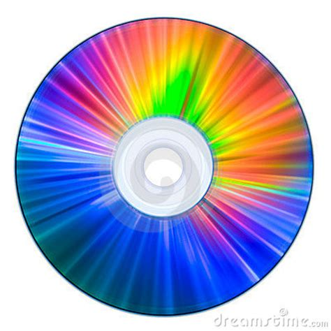 rainbow colors compact disc royalty  stock photography