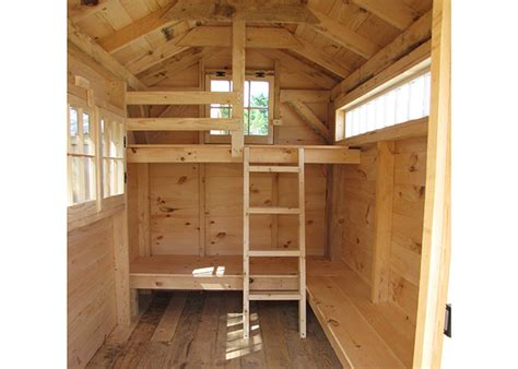 shed plans 8x12 with loft bunk house