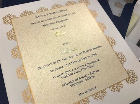 Wedding Invitation Etiquette Parents Of The Groom Indian