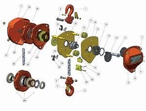 Wh-c4 Chain Block Spare Parts