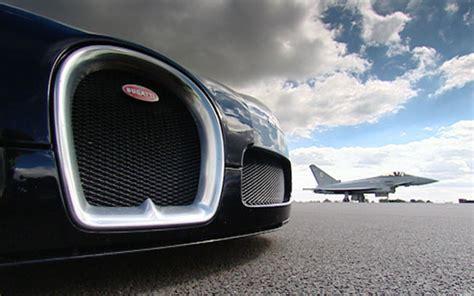 Bugatti Veyron Vs Jet Fighter News