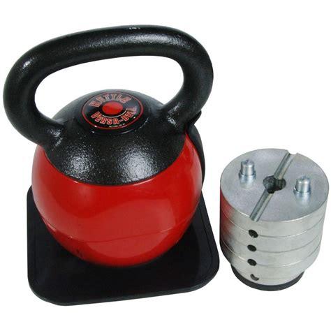 kettlebell adjustable stamina kettlebells bell lb versa depot 1000