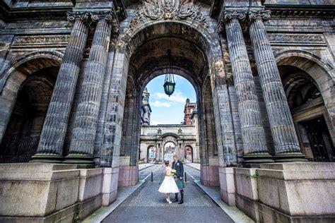 glasgow city chambers wedding  married   heart