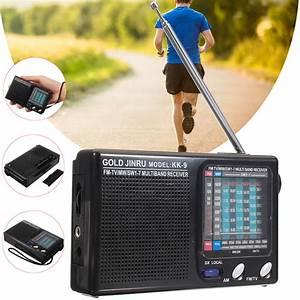 Portable Full Band Radio Fm Stereo Speaker Mw Sw Radio