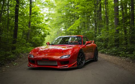 Mazda 2 4k Wallpapers by Wallpapers 4k Mazda Rx 7 Tuning Road Rx 7