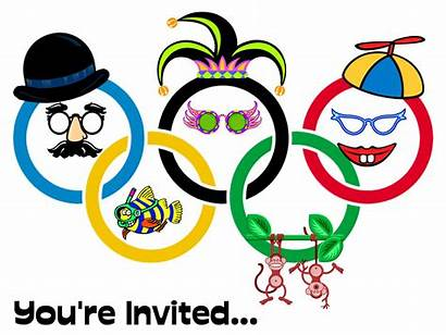 Olympics Clipart Games Olympic Clip Wacky Party