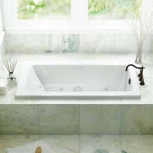 Shop Jacuzzi Primo 60 In White Acrylic Rectangular