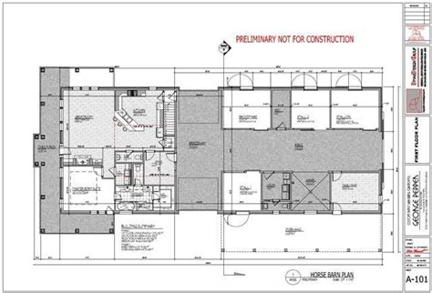 horse barn with living quarters plans shed plans horse