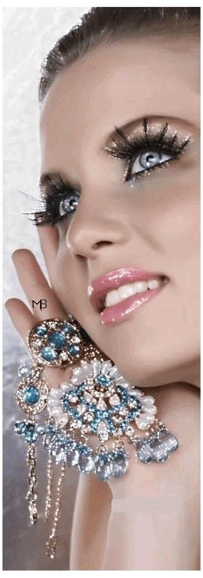 Gem Glitter Glamour Magazine Shadow Makeup Fab