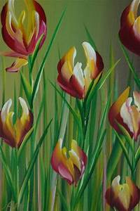 1000+ images about painting flowers on Pinterest | Easy ...