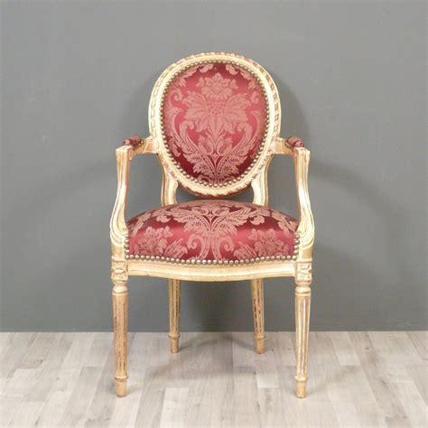 fauteuil medaillon louis xvi fauteuil louis xvi m 233 daillon fauteuil louis xv chaise baroque