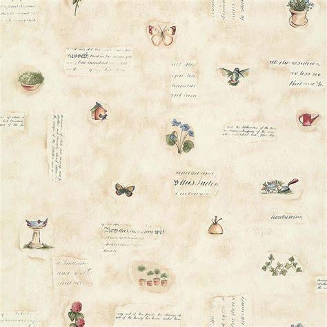 papier peint vinyle cuisine papier peint fleurs des chrs beige papier cuisine et