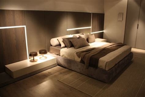 27265 bed with lights bedroom colors and their impact on the mood and ambiance