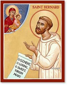 Men Saint Icons: St Bernard Icon Monastery Icons