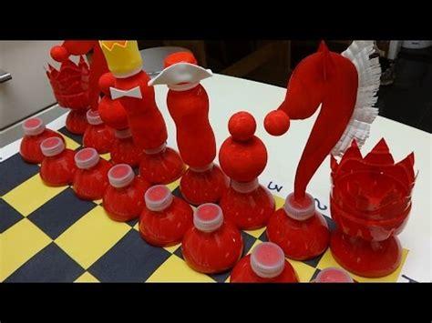 plastic bottle art  craft diy chess   plastic