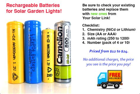 solar batteries for solar lights images