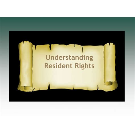 understanding resident rights relias academy