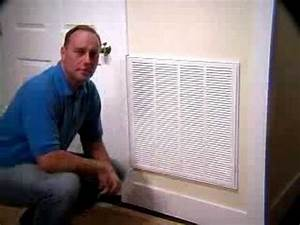 New Return Air Grille Filter
