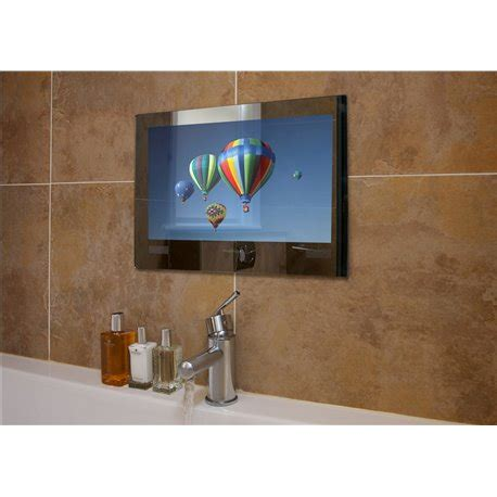 Waterproof Mirror Tv Bathroom by Frontline Proofvision Mirror Finish 24 Quot Waterproof