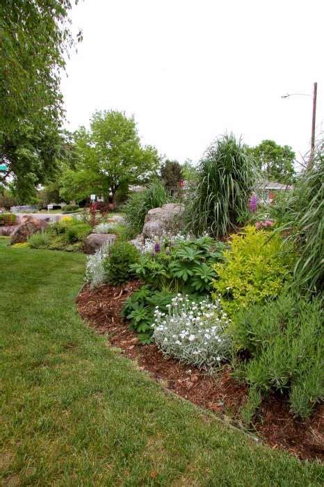 images  berm landscaping  pinterest