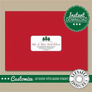 editable address label templateenvelope addressing With christmas labels for envelopes