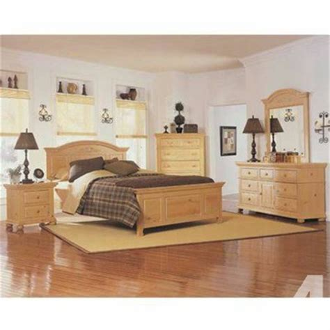 piece broyhill fontana queen bedroom set  mattress