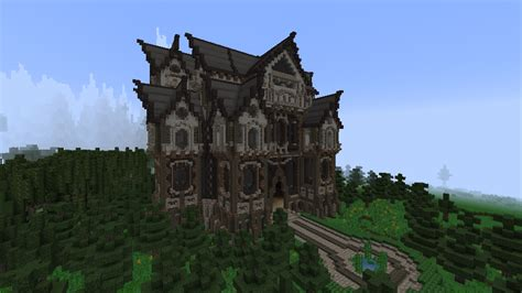 slenders mansion  gothic style build