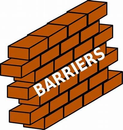 Barrier Clipart Wall Barriers Clip Listening Overcoming
