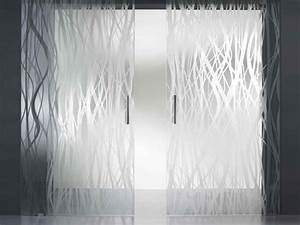 Etched Glass Door Frosted Glass Doors, contemporary glass ...