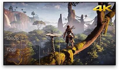 Ps4 4k Gaming Playstation Vs Graphics 1tb