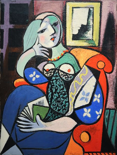 Picasso 'Woman with Book'