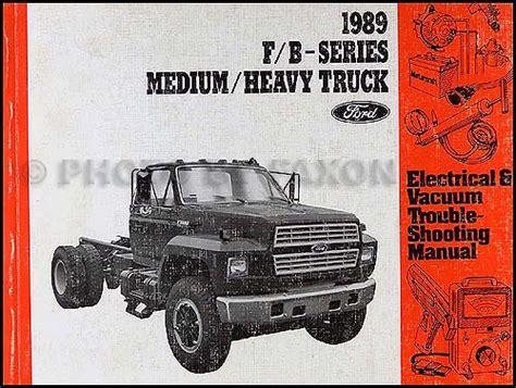1989 Ford F800 Wiring by 1989 Ford Truck Cab Foldout Wiring Diagram F600 F700