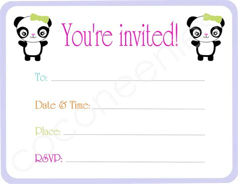 you re invited template blank invites cloudinvitation