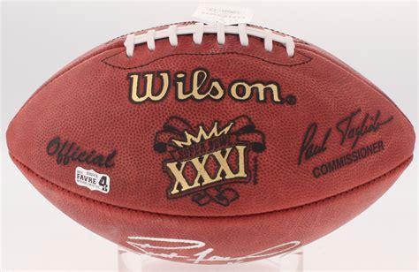 Brett Favre Signed Official Super Bowl Xxxi Game Ball