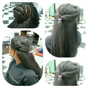 Crochet Braid Hair Style