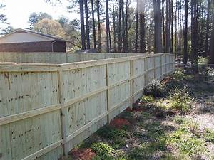 Capped Privacy Fences