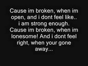 Broken-Seether ... Broken Lyrics