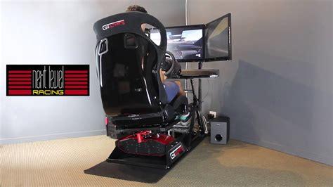 Next Level Racing Motion Platform V2 Simulator Cockpit