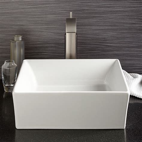 Waschbecken Bad Eckig by Vessel Bathroom Sink Pop Square Vessel Lavatory From Dxv