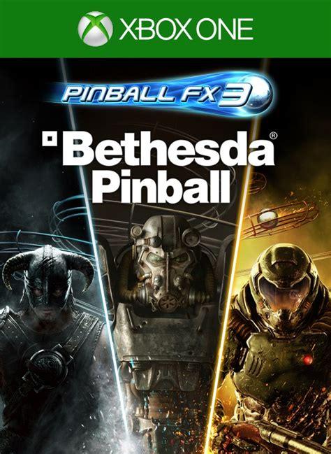 pinball bethesda fx3 xbox type microsoft