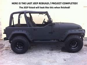 No Reserve  1993 Jeep Wrangler Yj Frame Off Restoration  Rebuild - Custom Body